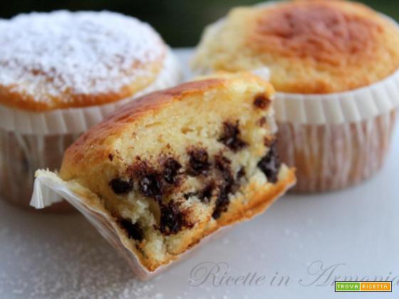 Muffin light solo 120 calorie, colazione senza rimorsi!