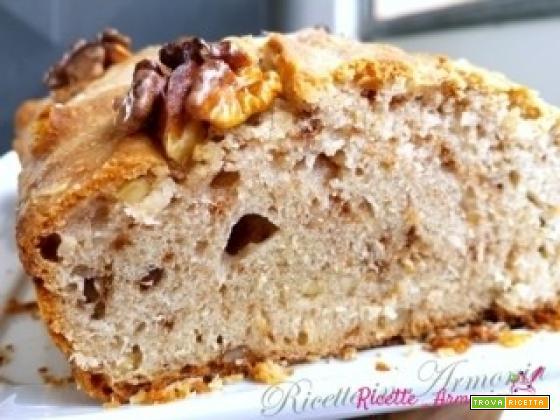 Pane di farro integrale con noci e semi di girasole!