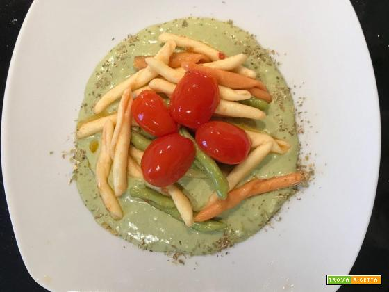 Tricolore pomodoro e basilico