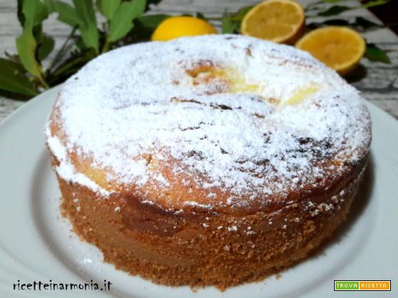 Torta Nua con ricotta e limone