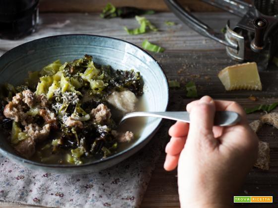 Zuppa covata di verza