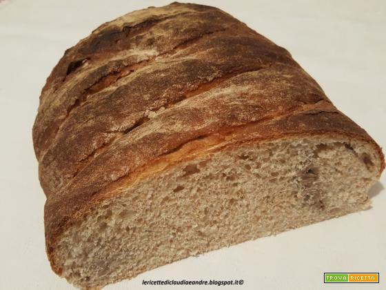 Pane semintegrale con semi di girasole