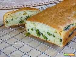 Plumcake agli asparagi e ricotta