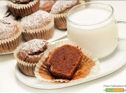 Muffin speziati al cacao gluten free e vegan