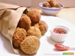 Polpette di patate salsiccia e porcini