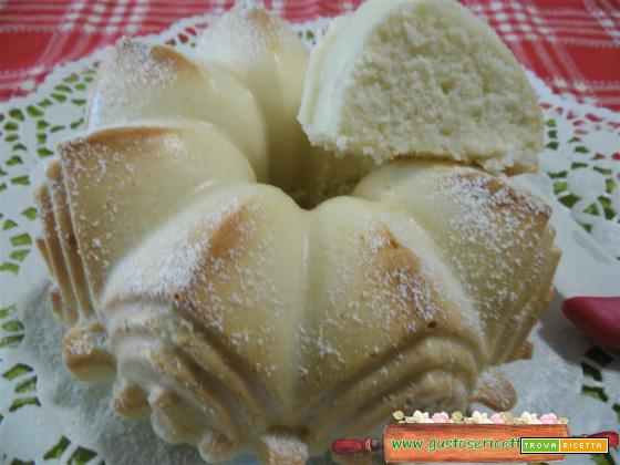 Ciambella di albumi e limoncello light