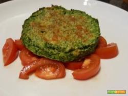 Burger di broccoli e formaggio