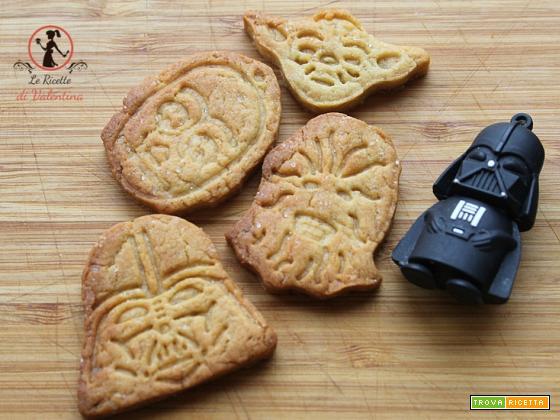 Auguri a tutti i Papà: biscotti Star wars di semola di grano duro rimacinata e olio