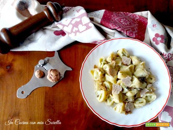 Tortelli al tartufo bianchetto