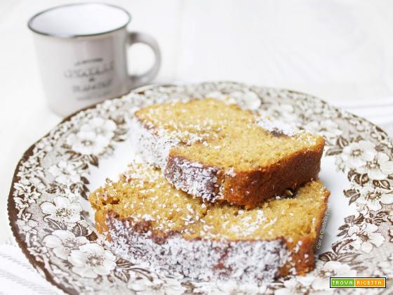 Plumcake al  Cocco e Crema di Nocciole (Conoscete lo zucchero di Cocco?)