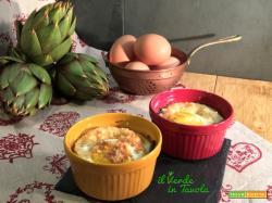 Cocotte con uova e carciofi – ricetta facile e veloce