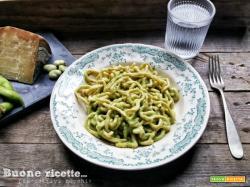 Tonarelli pesto di fave e Pecorino Toscano Dop