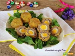 Polpette con uova di quaglia