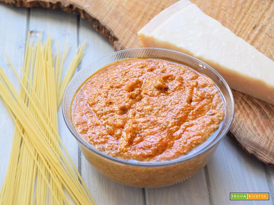 Pesto alla siciliana Bimby