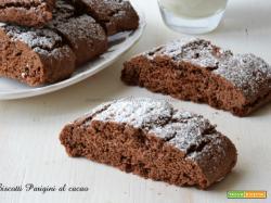 Biscotti Parigini al cacao golosi