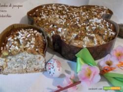 Colomba di Pasqua al cocco e pistacchio – lievito madre