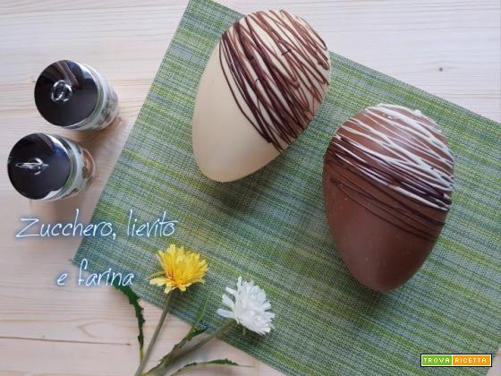 Uovo di cioccolato – Tecnica di realizzazione