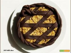 Pastiera Light al Cacao Senza Zucchero e Senza Burro