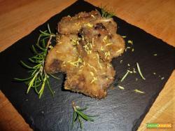 Ricetta – Costolette di agnello impanate al forno