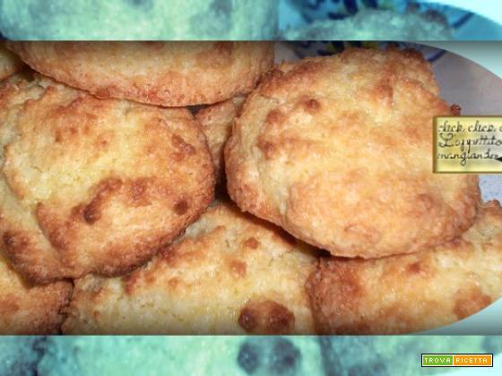 Biscotti al Cocco Delicati e Facili da Fare…