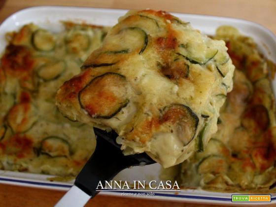 Lasagne pesto e zucchine