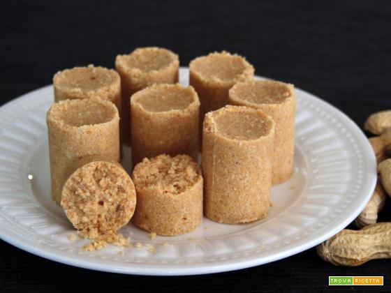 Dolcetto di arachidi (Paçoquinha de amendoim)