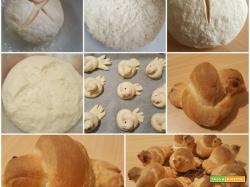 Pane a forma di colombine