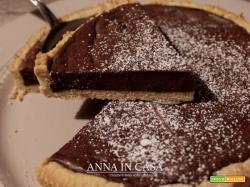Crostata cioccolatosa con frolla al caffè