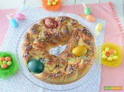 Treccia dolce di Pasqua
