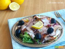 Carpaccio di polpo – ricetta di pesce raffinata