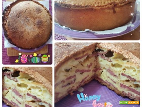 """Torta Rustica """" Chiena"""" Napoletana di Pasqua"""