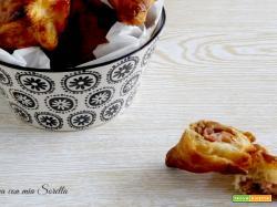 Fagottini pancetta e porcini