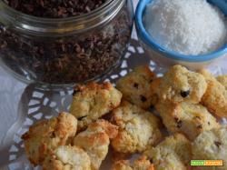 Biscotti al cocco senza lattosio