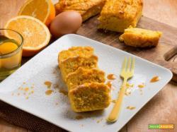 I mini plumcake all'arancia : dolcetti semplici e profumati