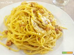 Spaghetti alla carbonara tradizionali
