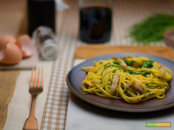 Pasta alla Carbonara… green