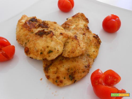 Fettine con crosta aromatica | Ricetta