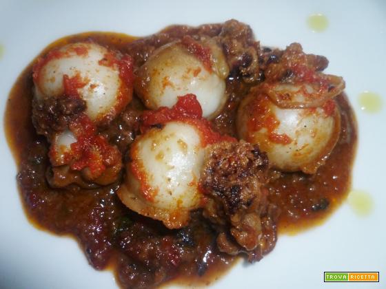Ricetta – Seppioline ripiene con olive e pomodori secchi