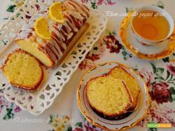 PLUM CAKE ALLO YOGURT GRECO E OLIO DI OLIVA