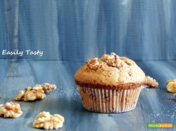 Muffin cioccolato e noci senza uova e burro