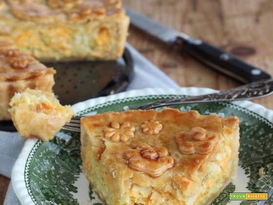 Cheesy Onion Pie