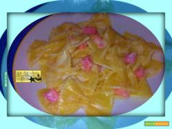 Farfalle Prosciutto Cotto e Robiola Finger Food