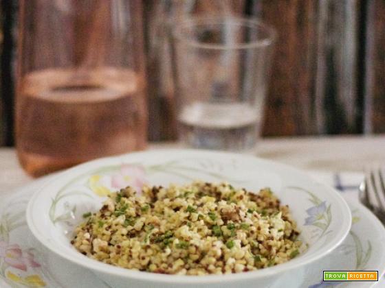 Bulgur e Quinoa...con tonno, peperoncino ed erba cipollina