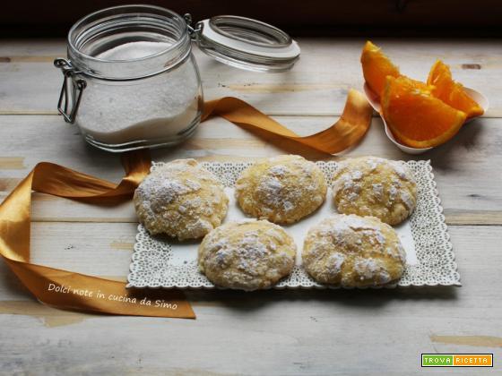 Biscotti soffici all'arancia