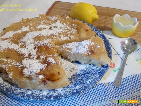 torta morbida alla marmellata di limoni