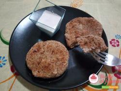 Hamburger di fagioli vegetariani