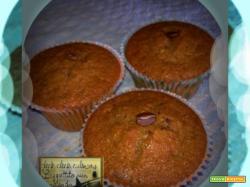 Muffin al Caffè e Cioccolato Fondente …Una delizia..