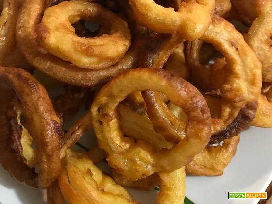 Anelli di cipolla fritti ricetta bimby