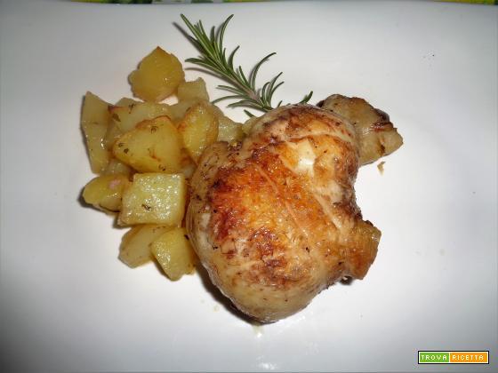 Ricetta – Cosce di pollo intere ripiene