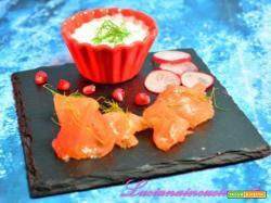 Gravlax di salmone marinato alla svedese